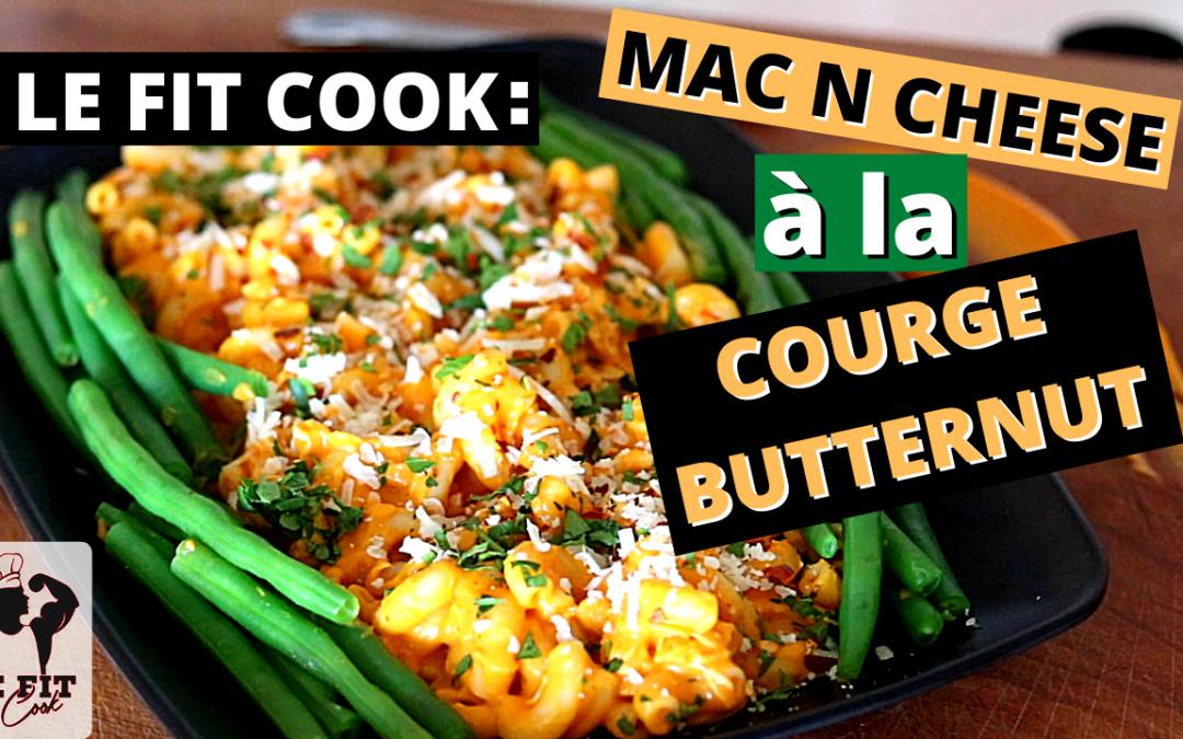Mac N Cheese à la Courge Butternut