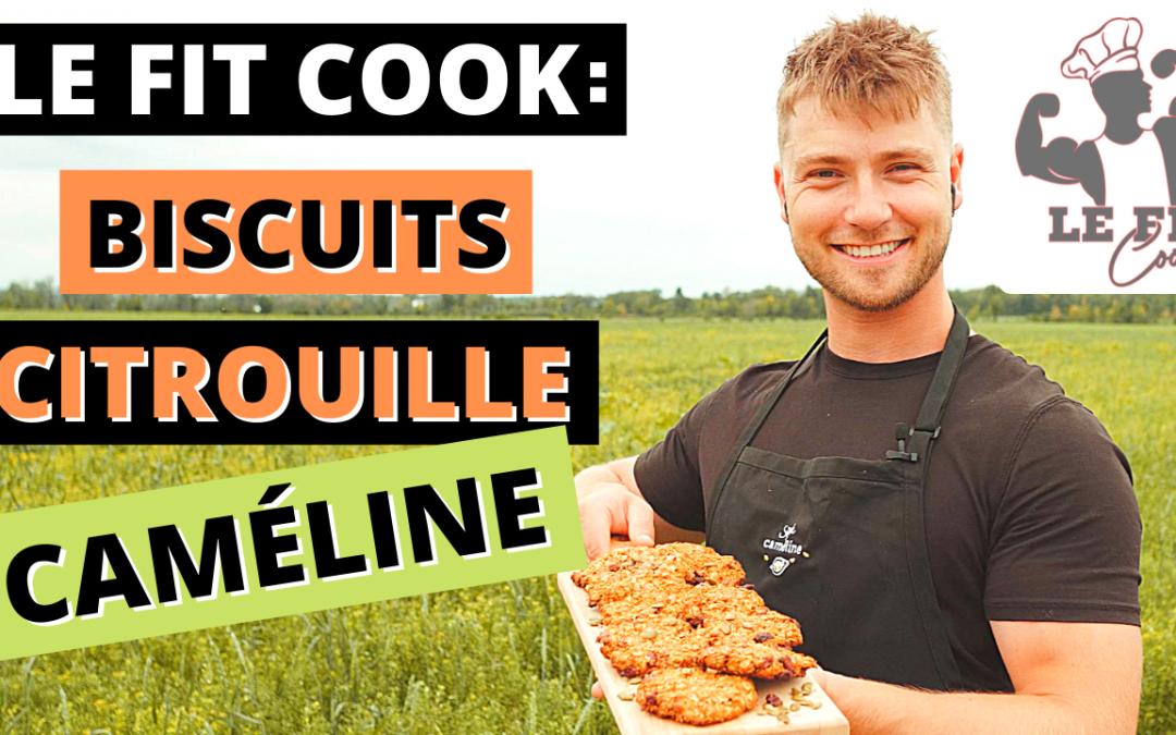 Biscuits Citrouille-Caméline